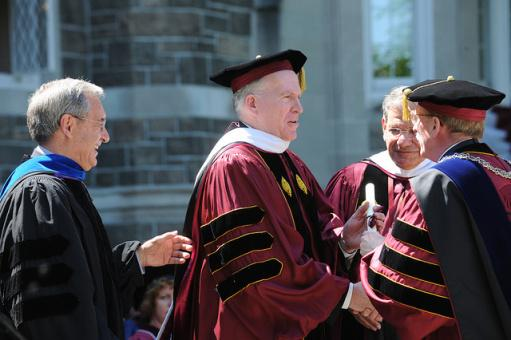 John Brennan, pictured here, received a Fordham Honorary degree before his allegation.