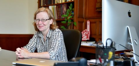 Dr. Maura Mast, Dean of Fordham College at Rose Hill, says the new office hours initiative will help students connect to the administration during the ongoing pandemic. (Courtesy of The Ram Archives)