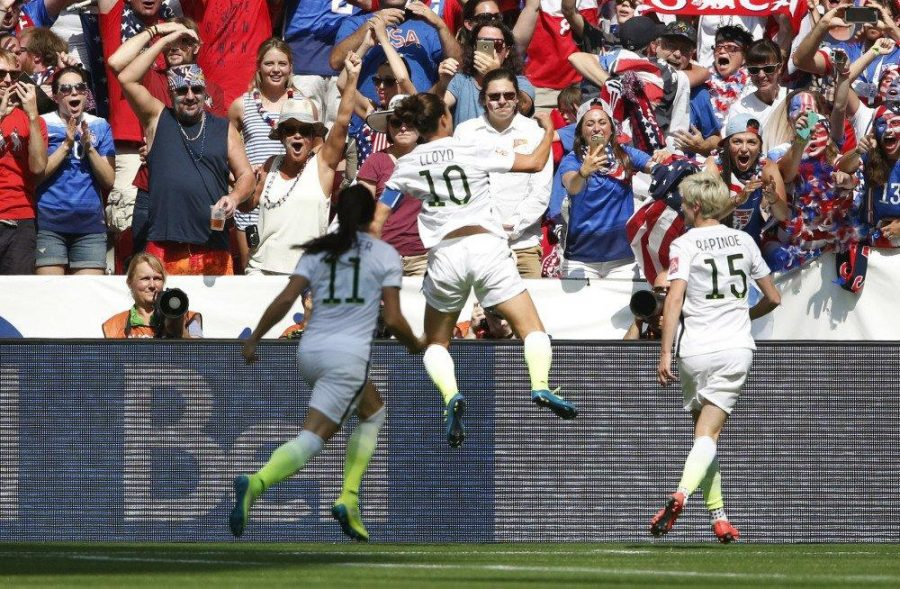 The USWNTs success on the field pales in comparison to what theyre fighting for off the field. (Courtesy of Twitter)