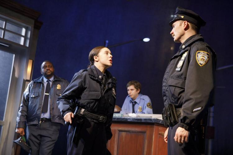 Broadway show 'Lobby Hero' plays distinctive New Yorkers caught in a war of worlds. (Courtesy of Facebook)
