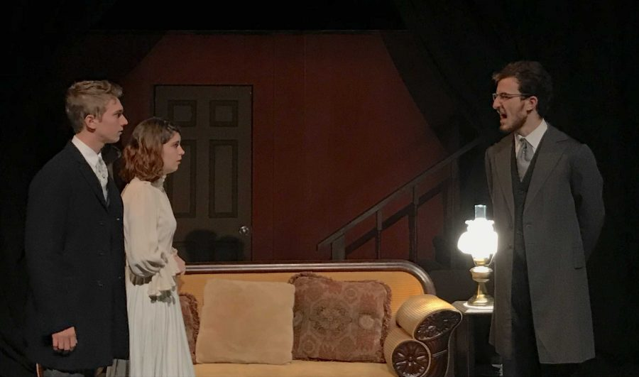 """TOP performs """"The Heiress,"""" a 1947 play by Ruth and Augustus Goetz adapted from the Henry James'  novel, Washington Square. (Kevin Stoltenborg/The Fordham Ram)"""