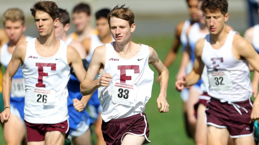 Ryan Kutch was the first Ram to ever win the Atlantic 10 Championship meet (Courtesy of Fordham Athletics).