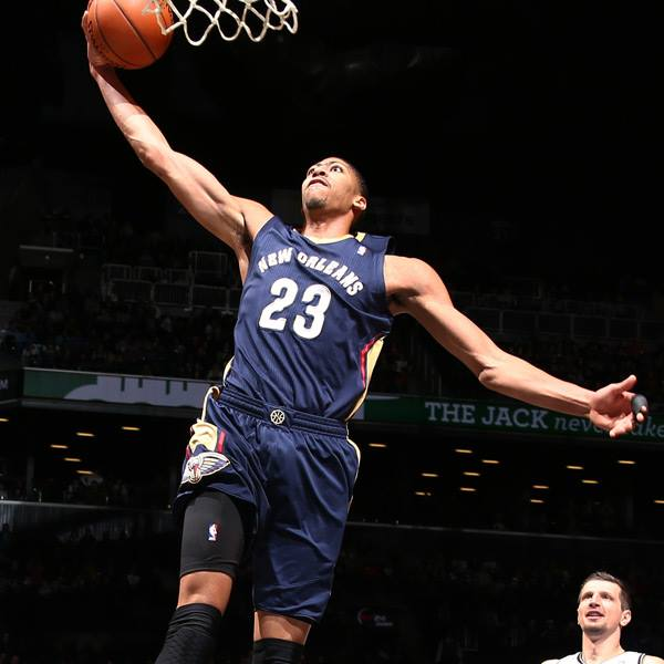 Anthony Davis, pictured above, faces scrutiny for requesting a trade. (Courtesy of Flickr)