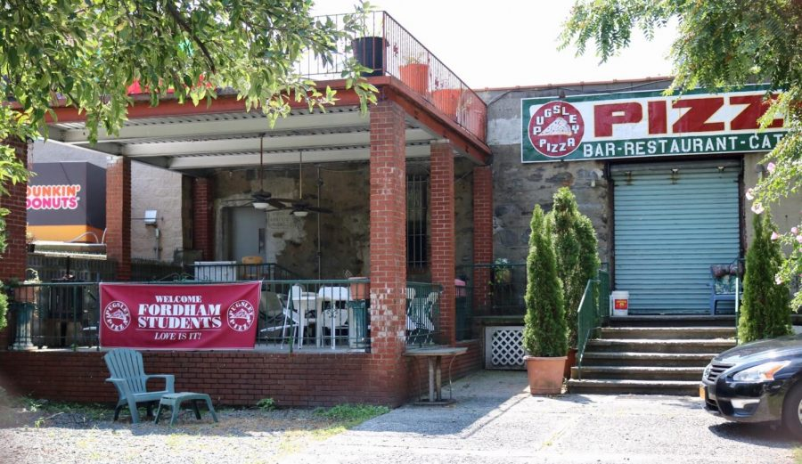 Pugsleys Pizza has become a Fordham classic  (Owen Corrigan for The Fordham Ram)