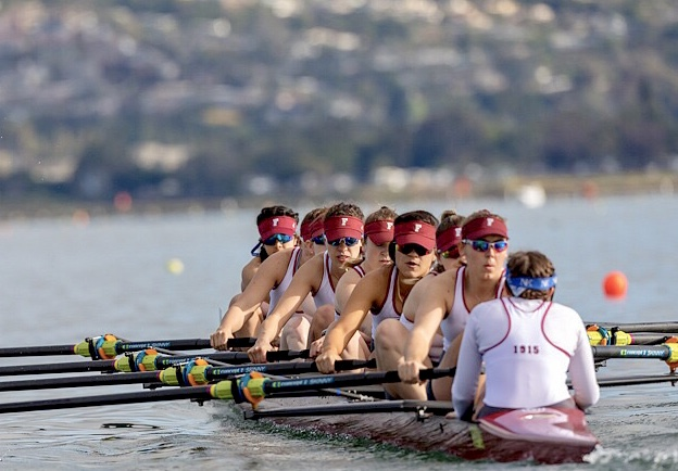 Fordham Rowing competed in its first two events of the season this weekend in New Jersey and San Diego. (Courtesy of Row2K)
