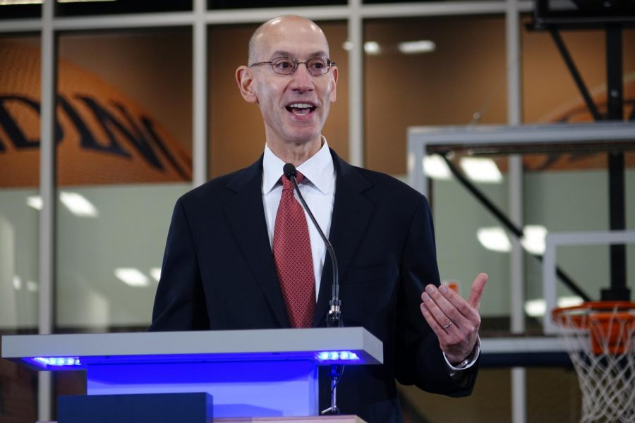 NBA commissioner Adam Silver is cracking down on tampering, but can he realistically succeed? (Courtesy of Flickr)