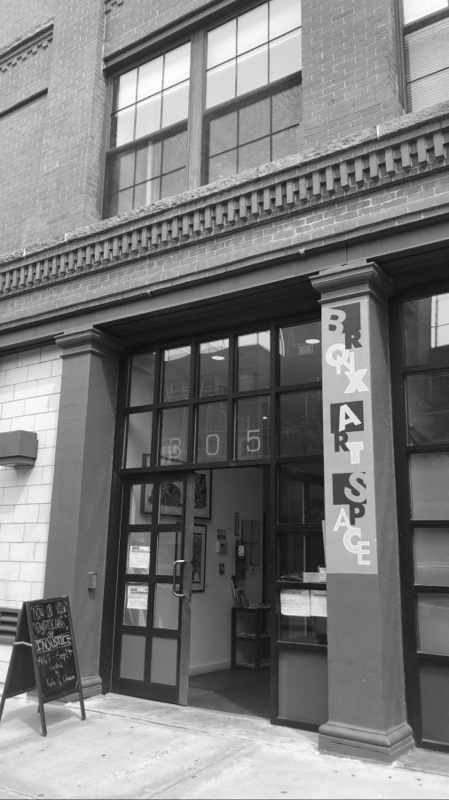 BronxArtSpace is in Mott Haven. (Courtesy of Sara Tsugranis for The Fordham Ram).