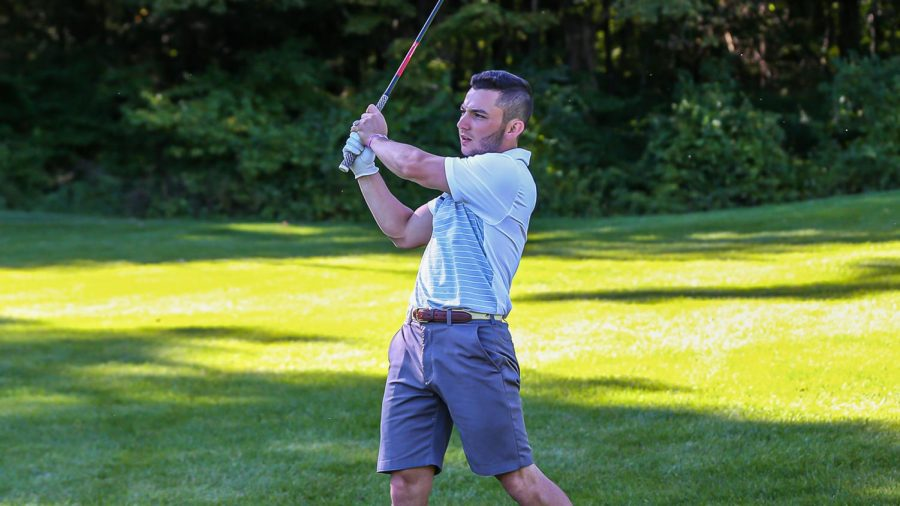 Fordham Golf's two top finishers tied for 70th at the Hartford Hawks Invite. (Courtesy of Fordham Athletics)