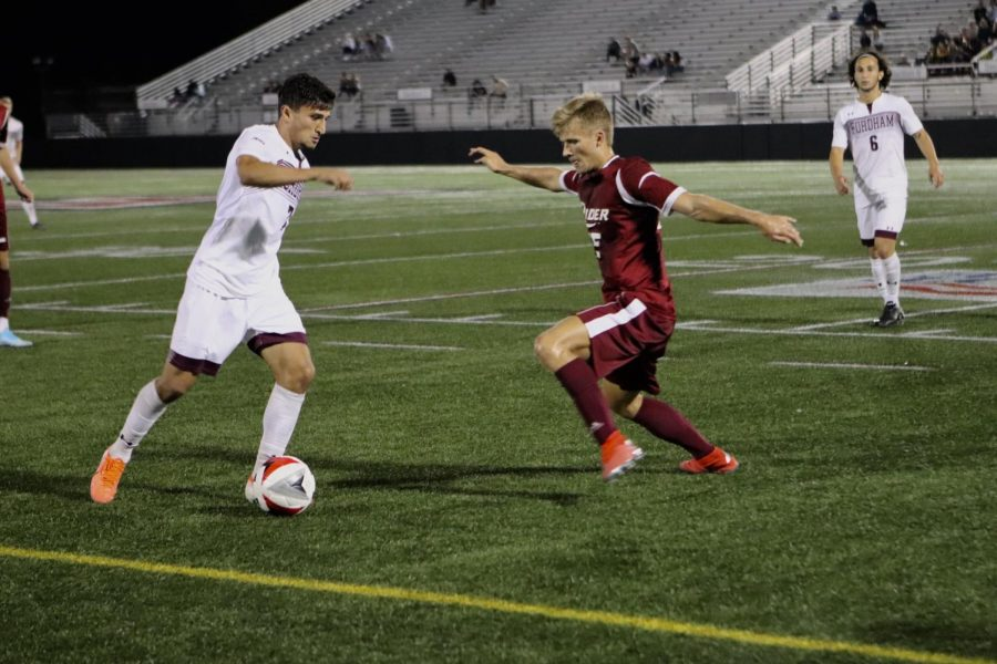 Fordham Mens Soccer is looking to turn things around after a rocky start. (MacKenzie Cranna/The Fordham Ram)