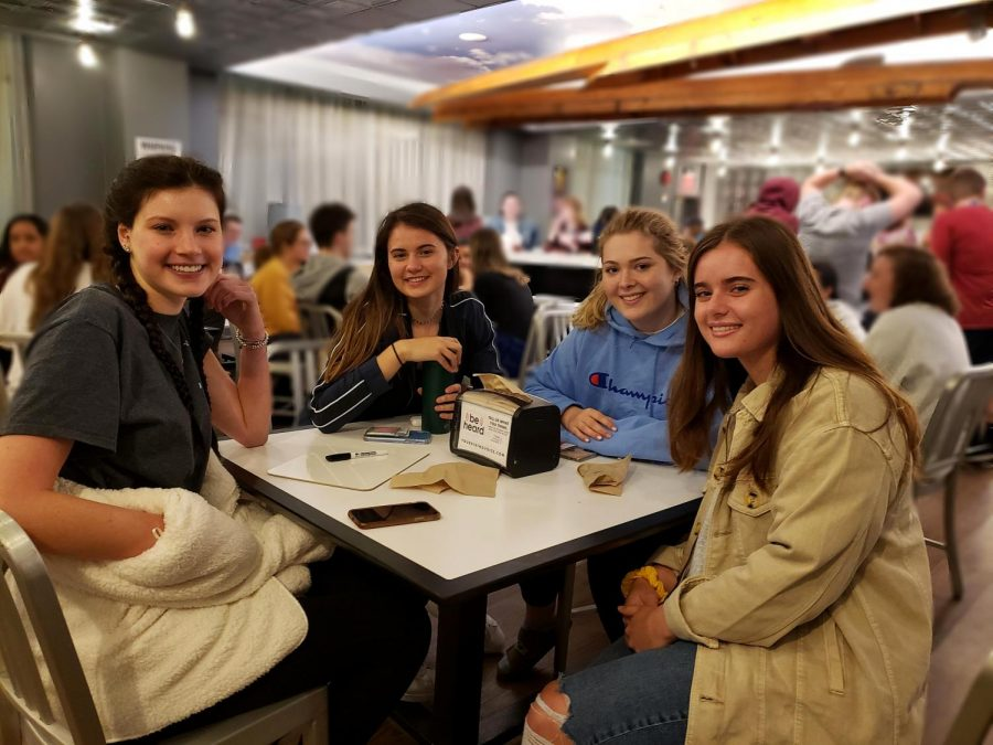 Students formed teams  to answer trivia questions about Disney movies and pediatric cancer. (Alexander Wolz/The Fordham Ram)
