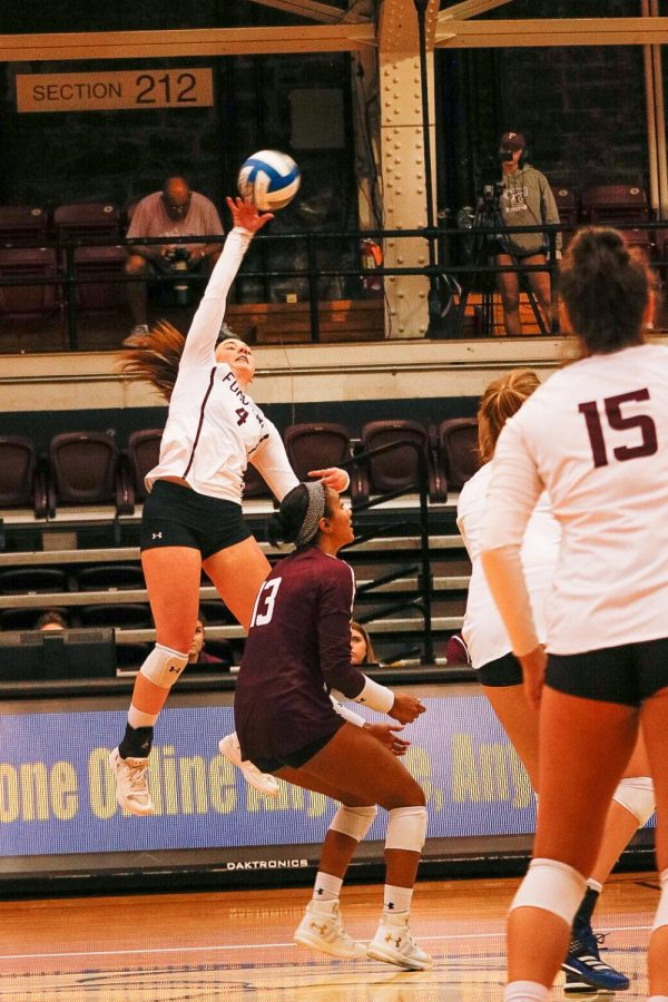 Fordham Volleyball saw more success this weekend at Dartmouth. (Julia Comerford/The Fordham Ram)
