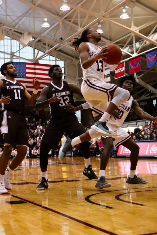 Fordham Mens Basketball will try to improve after the struggles of the past two seasons. (MacKenzie Cranna/The Fordham Ram)