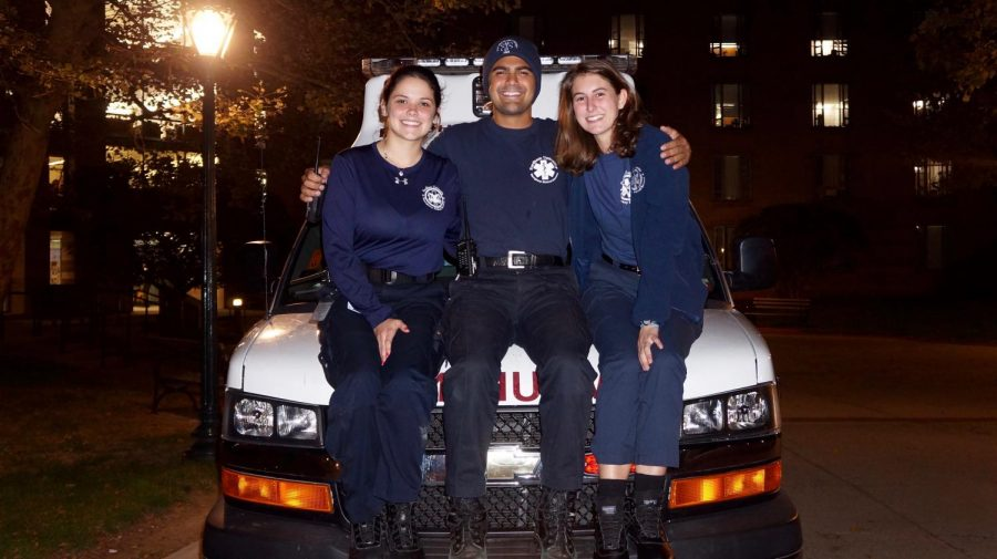 FUEMS is Fordham's student run EMS service that has been around for 42 years.