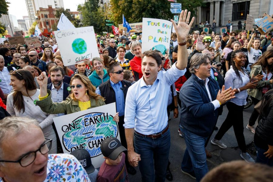 """Regardless of Prime Minsiter Trudeau's """"rock star status,""""  Canadians now recognize he is forsaking his policies. (Courtesy of Flickr)"""