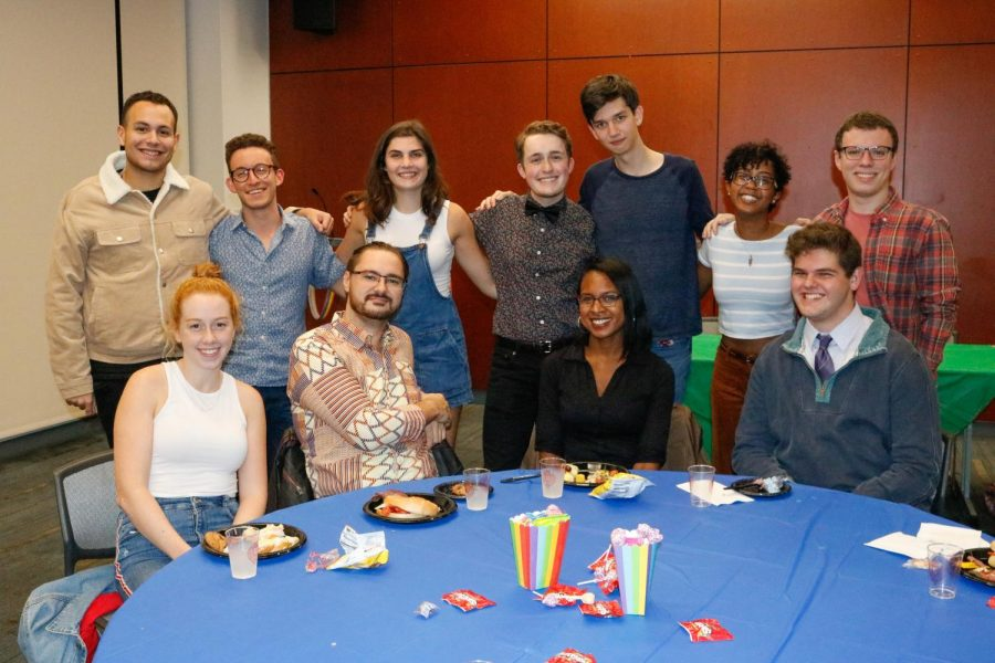 The Pride Alliance hosted its annual Coming Out Dance at Fordham.