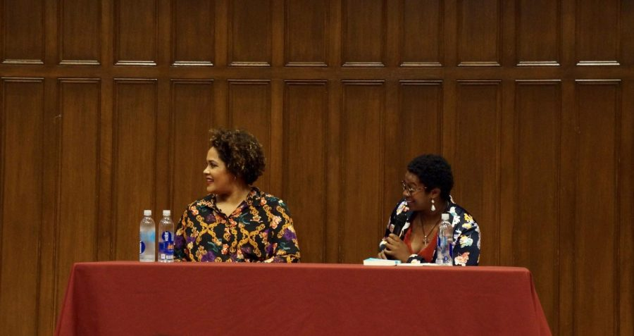 """Ashley C. Ford and Ijeoma Oluo engaged in conversation about Oluo's memoir, """"So You Want to Talk About Race."""