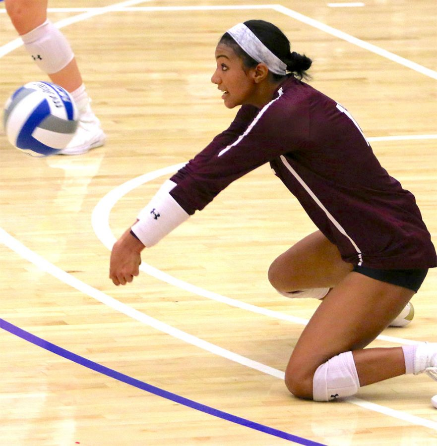 It was a difficult weekend for Fordham Women's Volleyball, losing a close one. (Courtesy of Fordham Athletics)