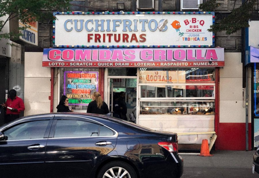 The menu at Cuchifritos features a variety of pork dishes. (Courtesy of Chris Capuano/ The Fordham Ram)