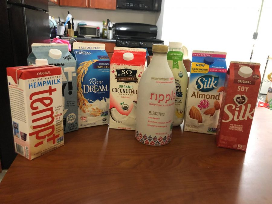 A variety of plant-based milks now saturate the market. The Ram sampled hemp, oat and soy, among others.