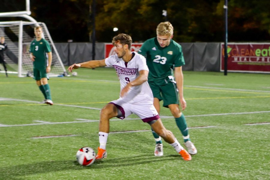 Mens Soccer falls to Columbia in Non-Conference Play