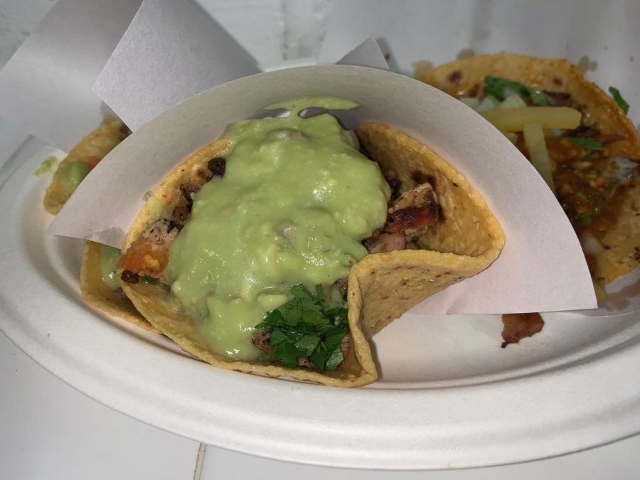 Los Tacos No. 1 offers chicken, pork, beef and grilled cactus tacos. (Courtesy of Chris Capuano)