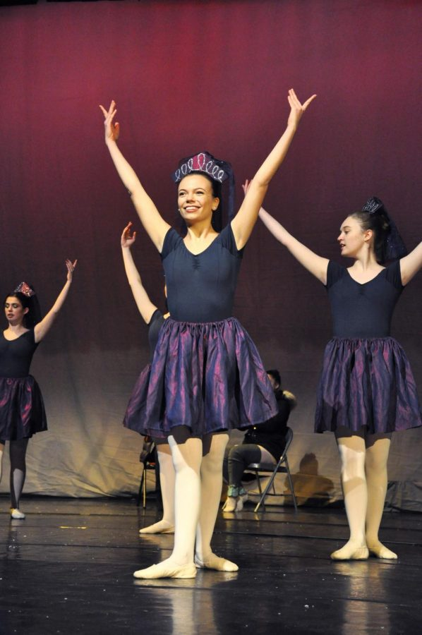 The Jetés are preforming the Nutcracker at the end of this month. (Courtesy of Julia Comerford/ The Fordham Ram)