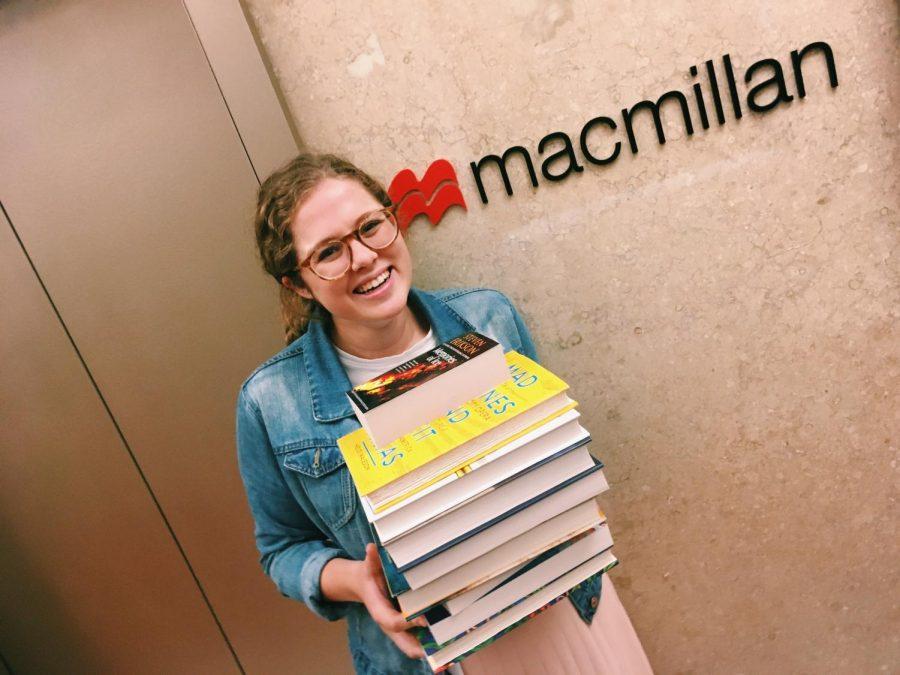 Emma Paolini interns at Penguin Random House, focusing on marketing. (Courtesy of Emma Paolini)