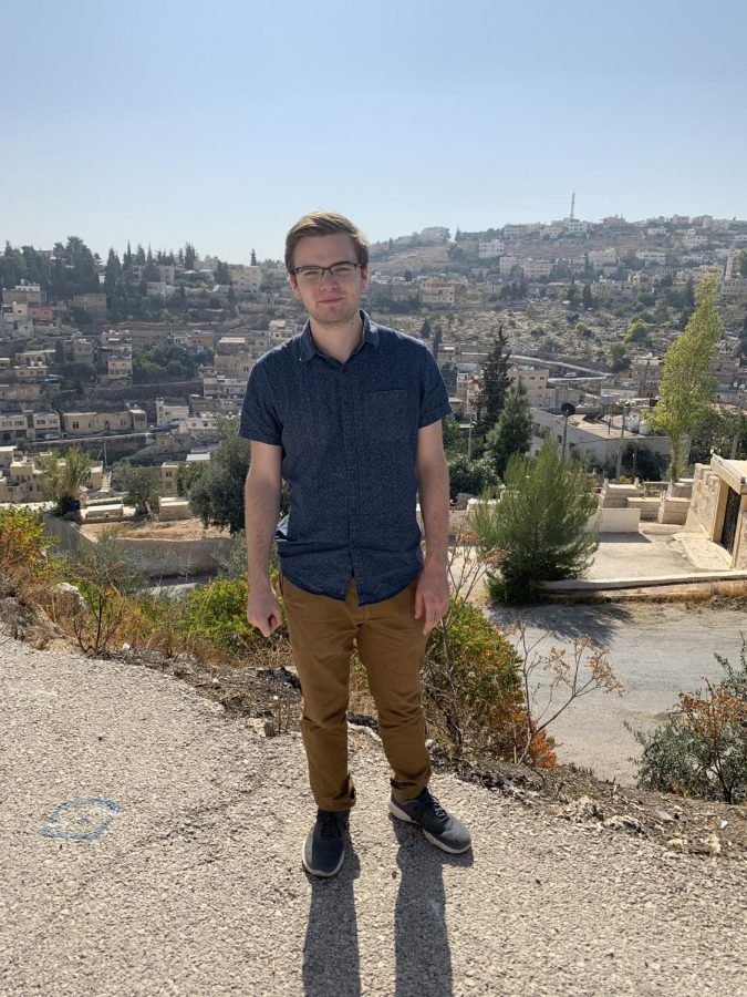 Gregory Hopp FCRH '21 is doing Research while studying abroad in Jordan