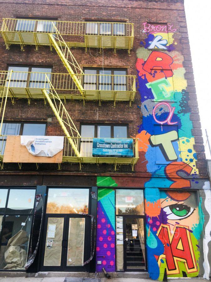 Bronx Kreate provides studio space to Bronx artists.