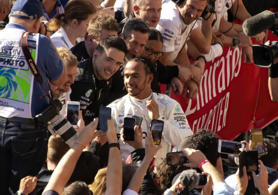 Lewis Hamilton is still the cream of the crop in Formula 1. (Courtesy of Flickr)