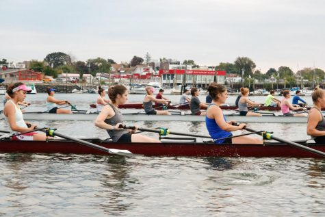 Fordham Rowing wrapped up the 2019 fall season at this weekend's 1969 Cup. (Julia Comerford/The Fordham Ram)