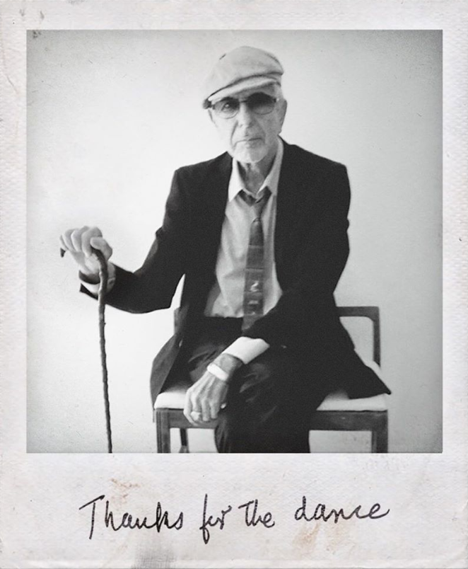 Courtesy of Leonard Cohens official Instagram