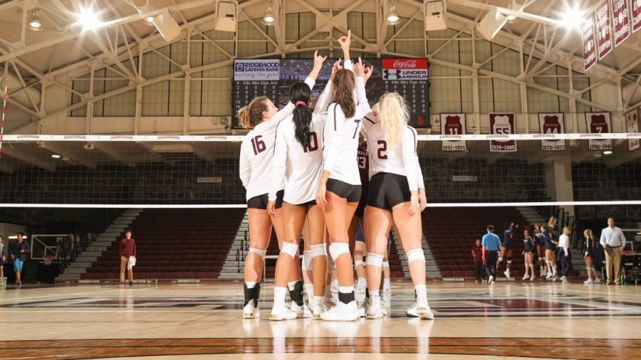 Despite a strong finish, Fordham Volleyball didn't make it to the A-10 Tournament. (Courtesy of Fordham Athletics)