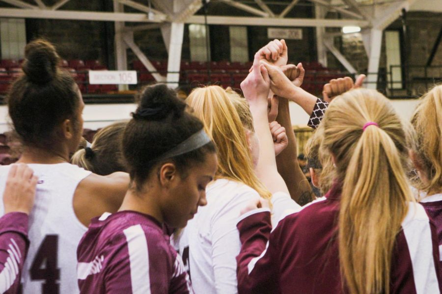 Fordham Women's Basketball's home opener has been canceled due to COVID-19 contact. (Alex Wolz/The Fordham Ram)