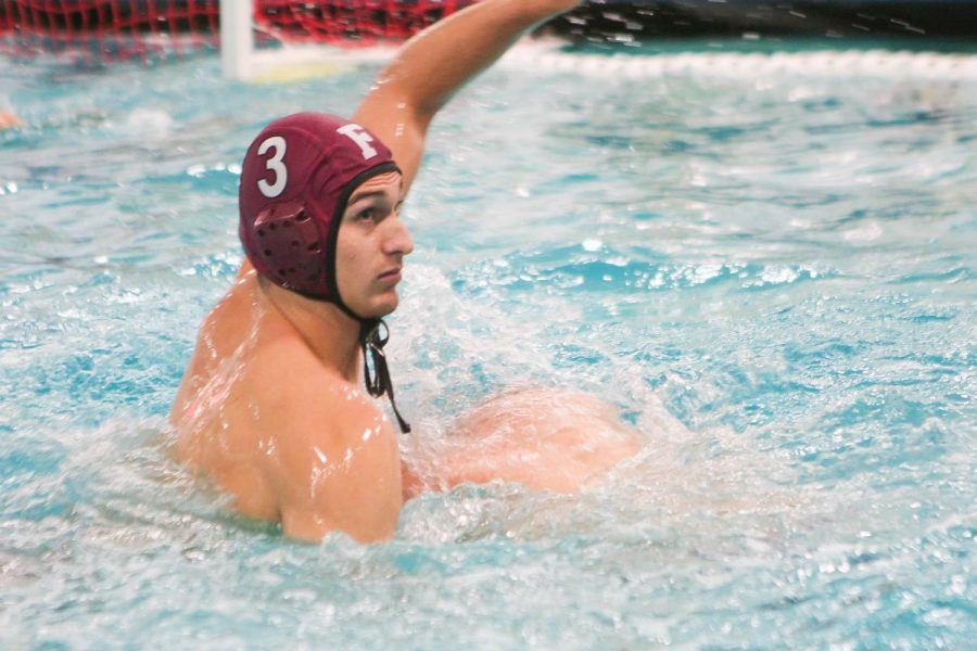 Water Polo beat La Salle and lost to Bucknell over the course of the past week. (Alex Wolz/The Fordham Ram)