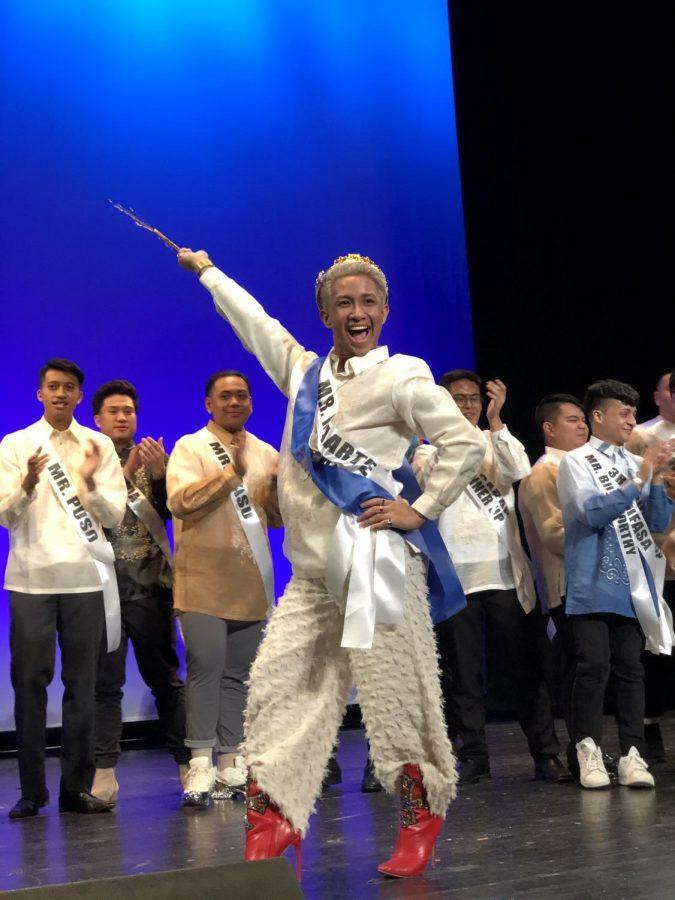 Jeffrey Pelayo, FCRH 21, won the title Mr. Philippine-Islands at a pageant at Columbia University.