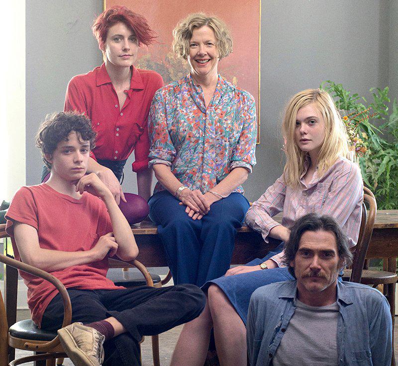 """20th Century Women"" stars Greta Gerwig, Annette Bening, Ellie Fanning , Lucas Jade Zumann and Billy Crudup, pictured above. (Courtesy of Twitter)"