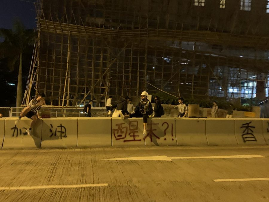 Fordham Student Participates in Hong Kong Protests