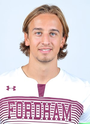 Joergen Oland (above) is the latest Fordham soccer star to make it to the next level. (Courtesy of Fordham Athletics)