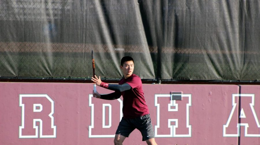 Fordham Mens Tennis took care of business against Bucknell on Saturday. (Courtesy of Fordham Athletics)