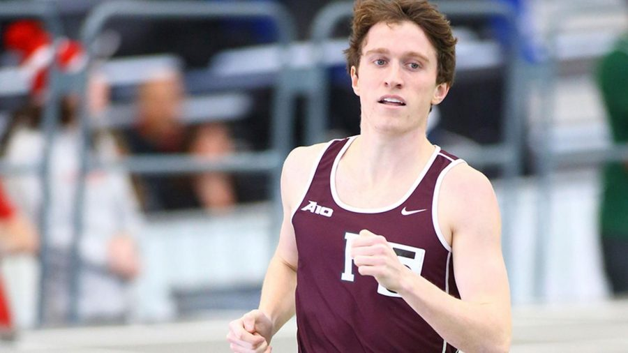 Fordham's track and field teams collected eight wins at the Elkin Invitaitonal. (Courtesy of Fordham Athletics)