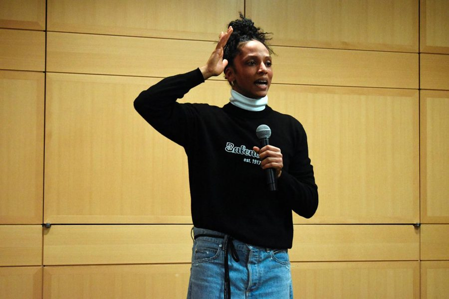 Janaya Khan is a Black, queer, gender-nonconforming activist who founded Black Lives Matter in Canada. (Abbey Delk/The Fordham Ram)