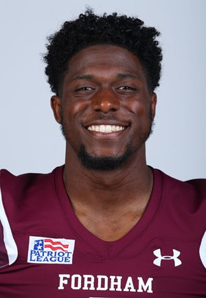 Dylan Mabin (above) is rejoining the Raiders. (Courtesy of Fordham Athletics)