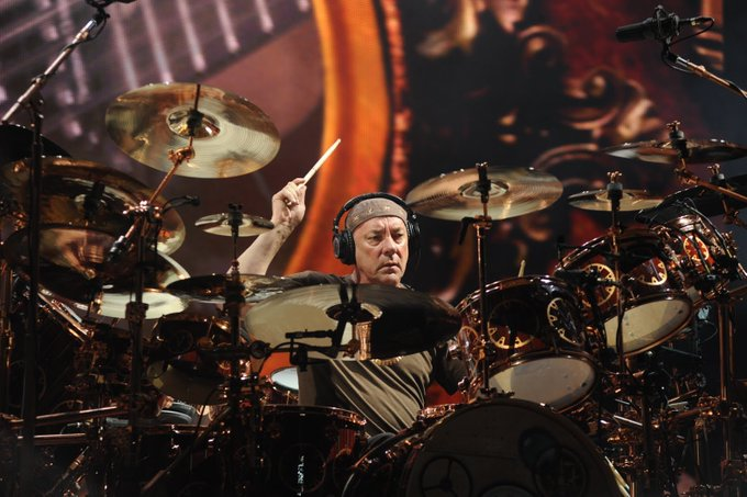 Acclaimed drummer of Rush, Neil Peart, recently passed away from brain cancer. (Courtesy of Twitter)