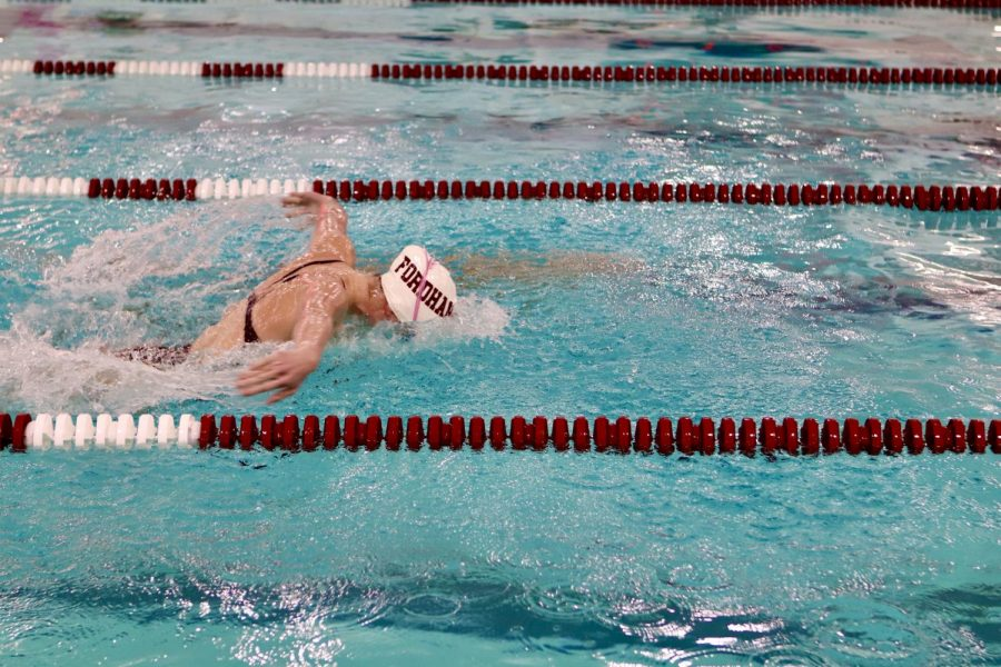 Fordham Swimming & Diving Sweep the Iona Gaels in Final Home Meet