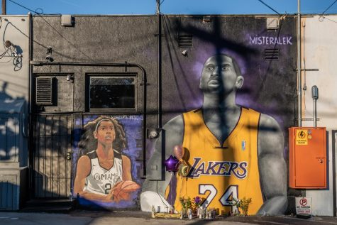 The lives of Kobe Bryant and his daughter Gianna were celebrated at a public memorial in Los Angeles on Monday. (Courtesy of Flickr)