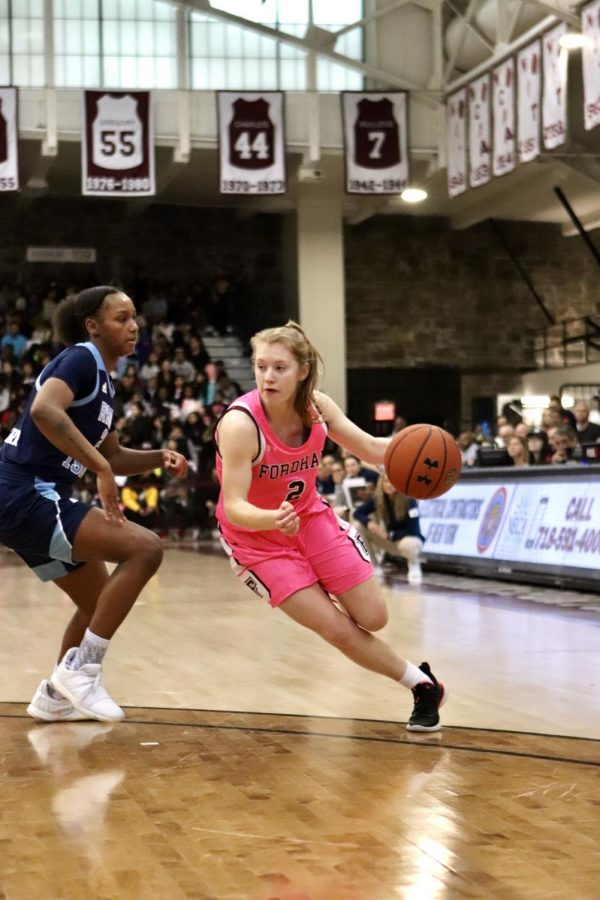The Rams aim to prove to be one of the A-10's best against Davidson. (Mackenzie Cranna/The Fordham Ram)