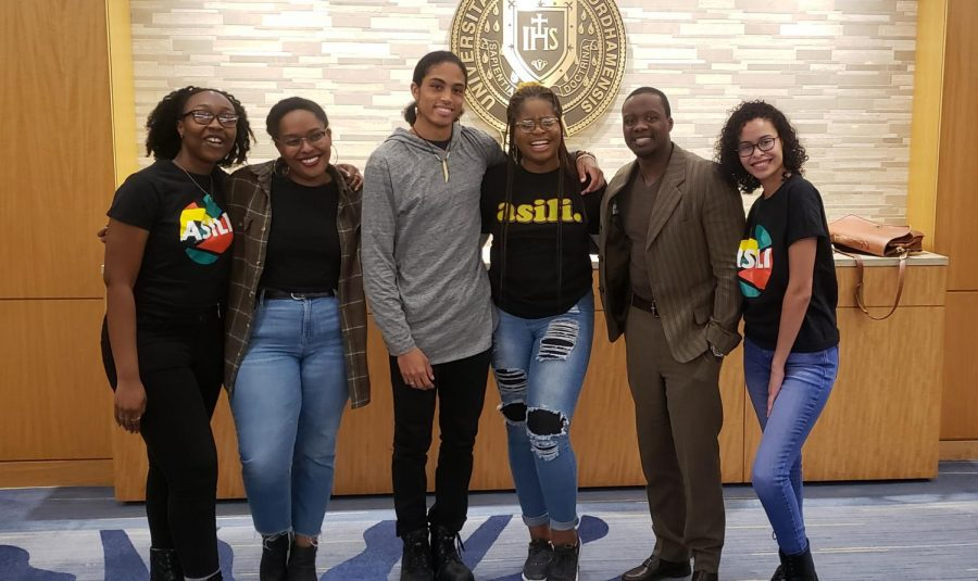 ASILI, the Black Student Alliance, whose members are pictured above,will be hosting events for Black History Month. (Courtesy of the Ram Archives)