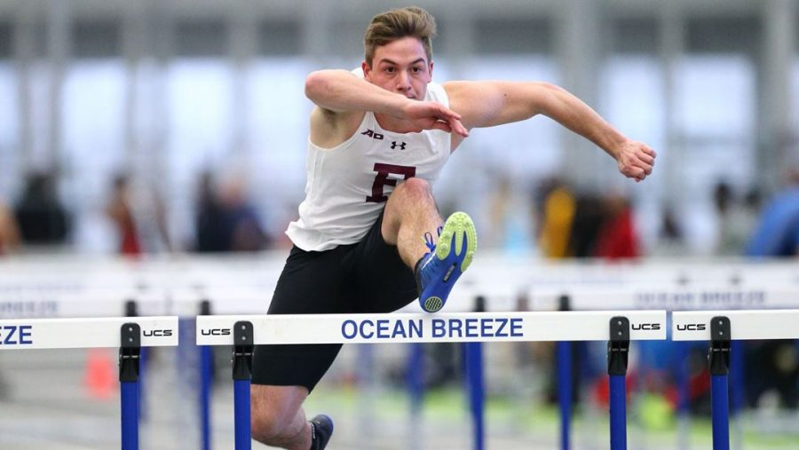 The Metropolitan Championship saw success for both men's and women's track, as Fordham had multiple event wins. (Courtesy of Fordham Athletics)
