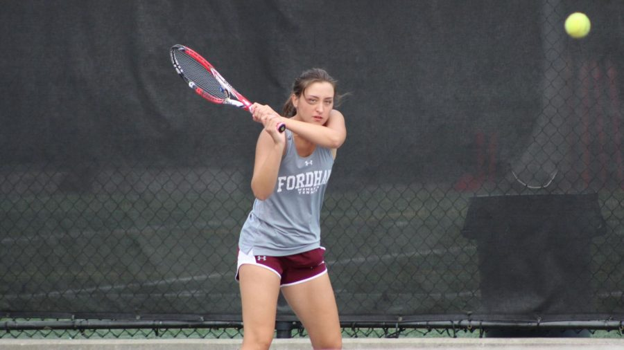 Taluyenko paced the Rams in a weekend of mixed results. (Courtesy of Fordham Athletics)